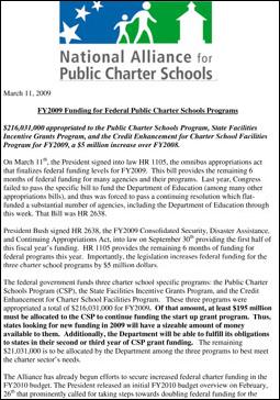 Microsoft Word - FY2009 Public Charter Schools Program Funding E