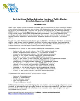 Microsoft Word - NAPCS 2011-12 New and Closed Charter Schools