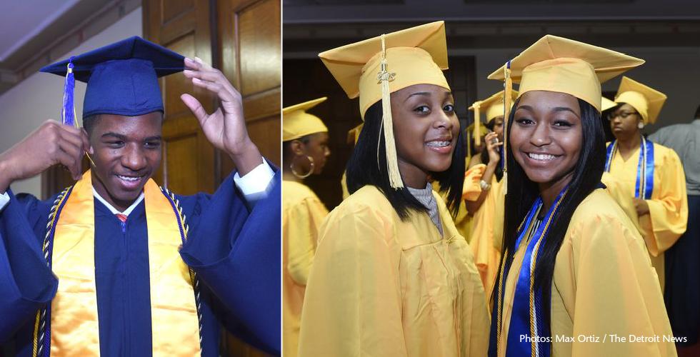 Jalen Rose Leadership Academy  |  Photos: Max Ortiz / The Detroit News