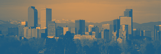 Colorado Skyline with National Alliance for Public Charter Schools branding