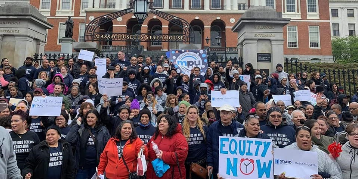 Rally for Massachusetts Parents United