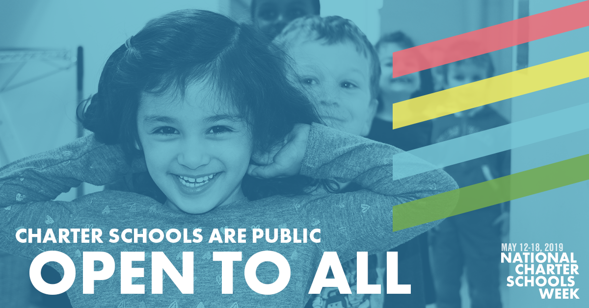 Charter schools are public and open to all