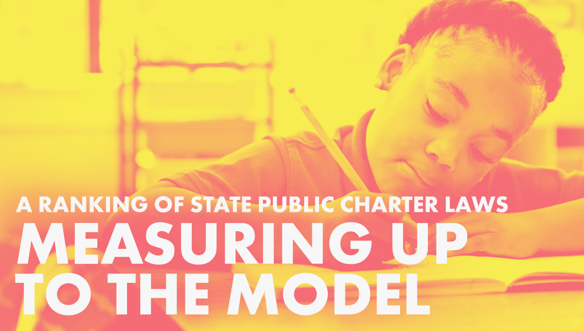 A Ranking of State Charter School Laws graphic
