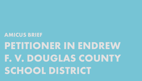 Petitioner in Endrew F. v. Douglas County School District