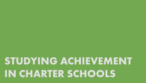 Studying Achievement in Charter Schools