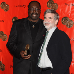 NBA legend Earl Monroe and filmmaker Dan Klores for blog on new charter school.