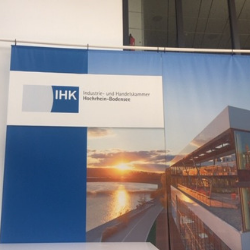 "Local chamber of industry and commerce, the IHK, which plays a government-mandated role in bringing together ""social partners."""
