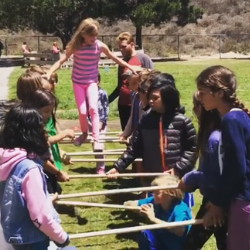 Students playing at Journey School, a high-performing Waldorf education charter school in California