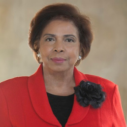 Dr. E. Faye Williams, National President of the National Congress of Black Women, Inc