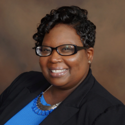 Headshot of Latoye A. Brown, chief executive officer of Audubon Schools and a member of the National Alliance for Public Charter Schools School Leaders of Color cohort