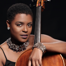 Élise Cuffy, cellist for The String Queens and Orchestra Director at KIPP DC: Northeast Academy