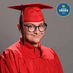 Mission Achievement and Success Charter School graduate Adan Cuevas