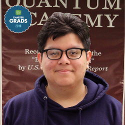 Class of 2019 graduate Rudy Hernandez reflects back on his time at Synergy Academies