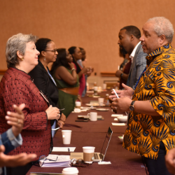 School Leaders of Color at the NCSC19 pre-conference