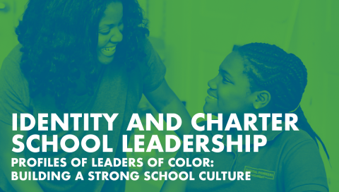 Cover photo for identity and charter schools report