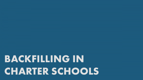 Backfilling in Charter Schools